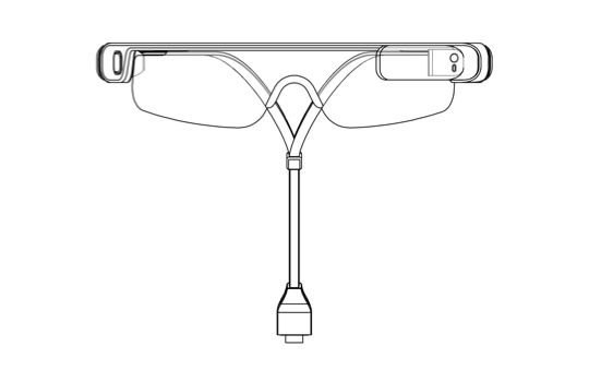 Samsung Glass - front view