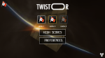 Twistor Game for Android - Main menu